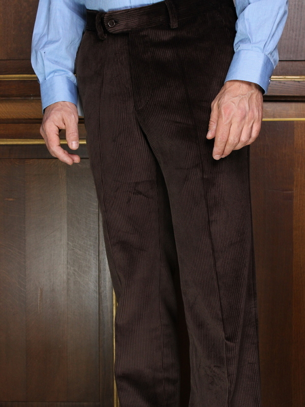 Pantalon Velours lourd  Marron PV71SP