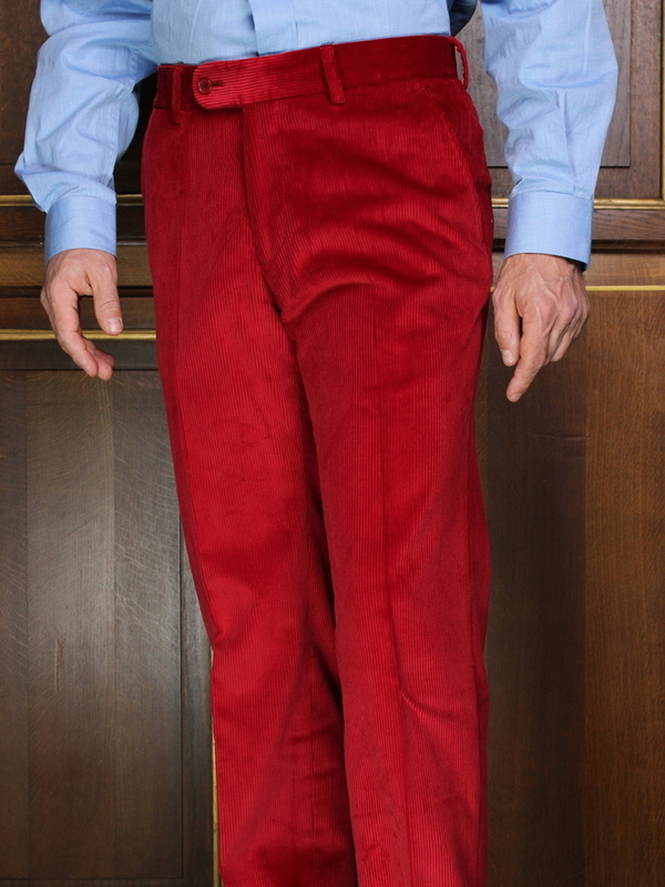 Pantalon Velours rouge PV101