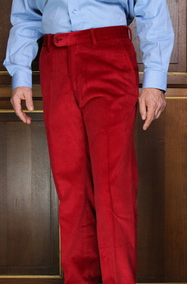 Pantalon Velours rouge PV101SP