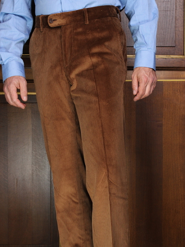 Pantalon Velours Marron PV108SP