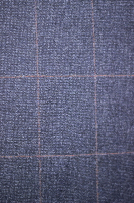 Costume tradition Flanelle Bleu carreau rouge 100% Laine CTH290